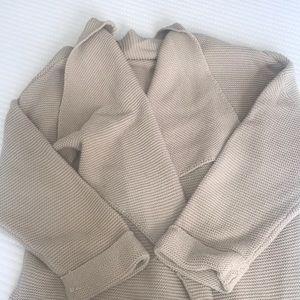 HM oversized cardigan